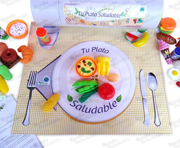 Tu Plato Saludable 3D